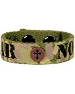 FGCB 113 Armbånd - Fear Not Camo Faith Gear Canvas Bracelet